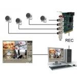 4 kanálový CCTV security system - PC karta