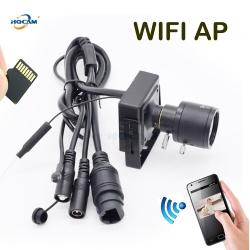 WIFI IP mini kamera HQCAM s manuálním objektivem