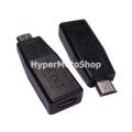 Adaptér z mini USB na micro USB pro nabíječky a datové kabely