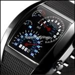 Binární LED hodinky – modrá led