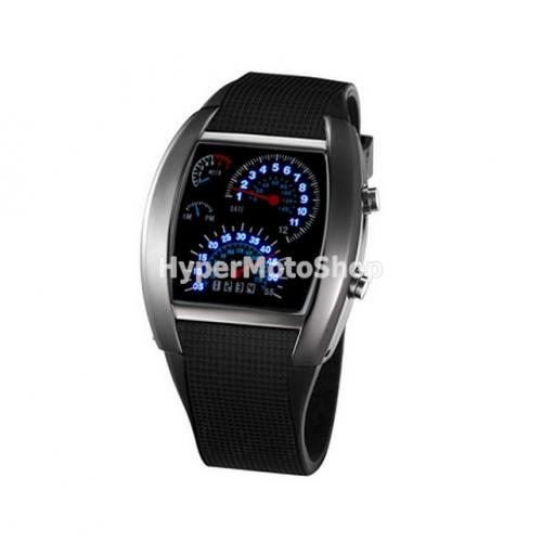 Binární LED hodinky – modrá led 50d5822d186