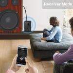 Bezdrátový přijímač - vysílač Bluetooth do televize nebo reproduktoru