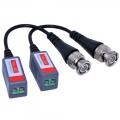 Video balun pasivní převodník koaxiálního kabelu BNC/UTP