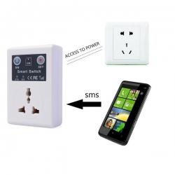 Dálkově ovládaná GSM zásuvka
