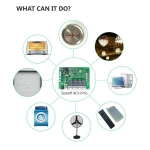 Dálkově ovládaný čtyřkanálový WiFi modul Sonoff 4CH PRO