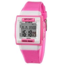 Dětské digitální hodinky Synoke růžové