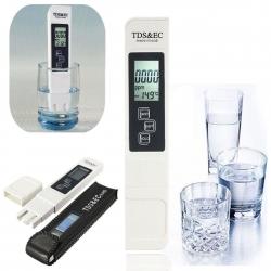 digitální EC a TDS metr s měřením teploty