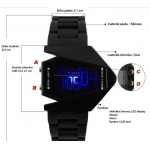 Digitální hodinky s barevným led displejem