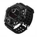 Sportovní digitální hodinky Sanda černé