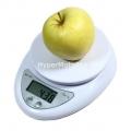 Digitální kuchyňská váha s přesností 1g