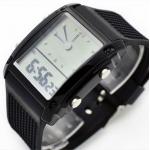 digitální LED hodinky s multi color podsvícením