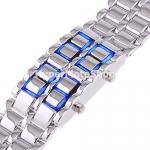 Digitální LED hodinky ICE IRON - silver