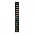 Digitální teploměr nalepovací 13cm