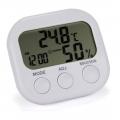 Digitální teploměr, vlhkoměr, alarm, datum a čas