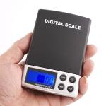 Kapesní digitální váha, přesnost 0,01g do 200g