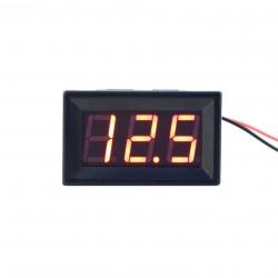 Digitální voltmetr do panelu 2,50 - 30V