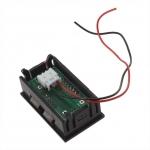 Digitální voltmetr do panelu 2,5 - 30V