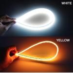 Denní svícení LED DRL 60cm studená bílá