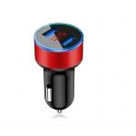 Duální USB nabíječka s voltmetrem do auta