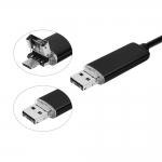 USB endoskop pro Android a počítač s osvětlením 10m