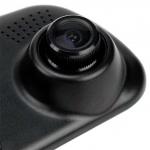Auto Kamera ve zpětném zrcátku a zadní kamera