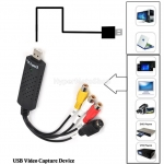 USB video grabber pro záznam videa z VHS do PC