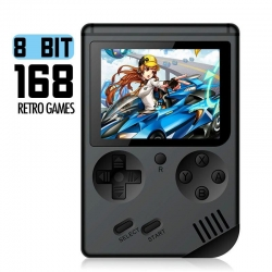 Herní mini konzole připojení k TV 168 her