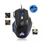 Optická herní myš 5500 DPI, 7 tlačítek