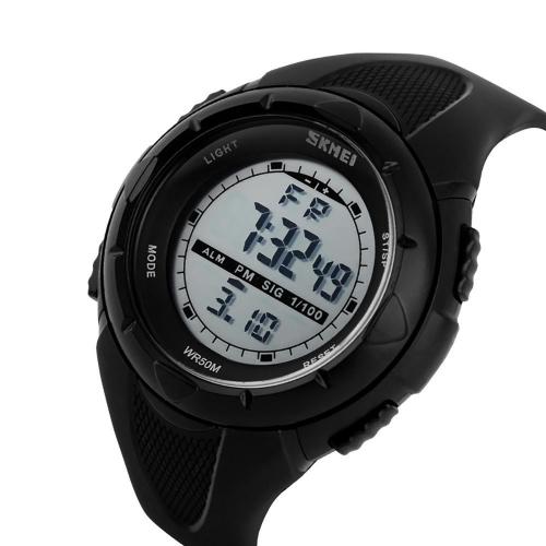 f0cf5389a SKMEI 1025 pánské LED digitální sportovní náramkové hodinky