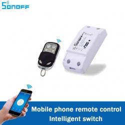 WiFi a RF bezdrátový ovládací modul s výstupním relé Sonoff RF
