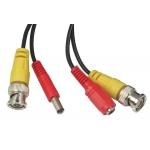 Kabel 20m pro kamery CCTV, konektory BNC a DC
