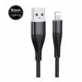 USB kabel oplétaný nylon Lightning pro iPhone