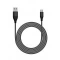 kabel oplétaný nylon USB-C