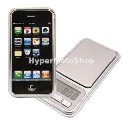 Digitální váha ve tvaru iPhone 100g, 0,01g
