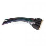 4 pinový Flexibilní konektor pro LED pásek (samec)