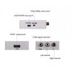 Konvertor převodník z AV na HDMI