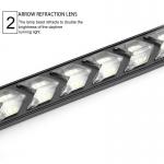 2X Denní svícení LED DRL s funkcí blinkru postupné spouštění