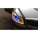 2X LED DRL denní svícení s funkcí blinkru 60cm