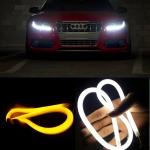 2X LED DRL denní svícení s funkcí blinkru 30cm