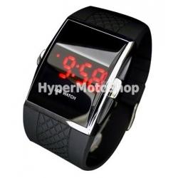 Digitální hodinky s LED displejem.