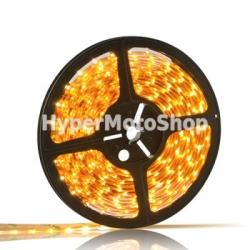 Vodotěsný LED pásek, 5m, 300 LED, teplá bílá, SMD3528