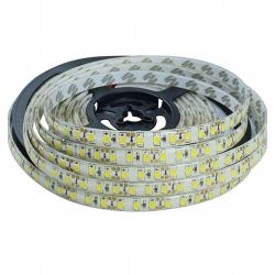 Vodetěsný LED pásek, 5m, 300 LED, teplá bílá, SMD2835