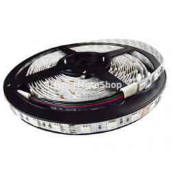 RGB LED pásek, 5m, 300 LED, tříbarevný, SMD5050