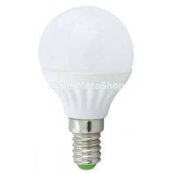 Úsporná LED žárovka E14, 7x LED SMD 5050