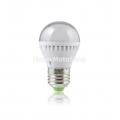 Úsporná LED žárovka E27, 7x LED SMD 5050 studená bílá