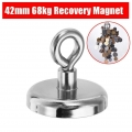 Magnet fishing Neodymový magnet pro lovce pokladů 68Kg