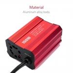 Měnič napětí do auta 220V 150W USB