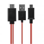 MHL Kabel HDTV s redukcí micro USB na HDMI
