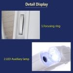 Kapesní mikroskop 100x zoom s LED osvětlením
