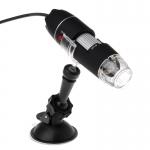 Digitální USB mikroskop 1000x s přísavkou